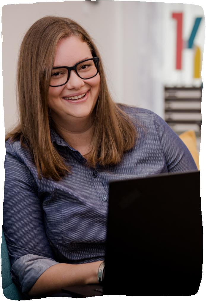 Ing. Katharina Brozek, BSc - Sondereinheit für Web & Entwicklung