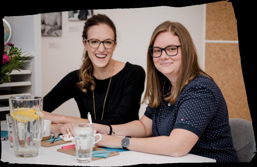 Die Komplizinnen - Sandra Wild und Katharina Brozek im Hauptquartier für Web & Design