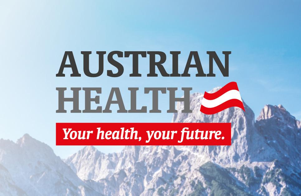 Logo Relaunch für Austrian Health