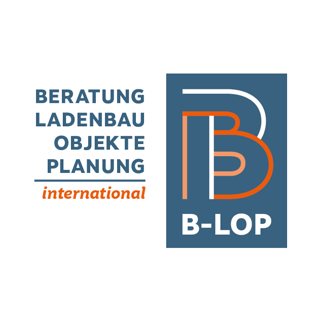 Logodesign für b-lop international, Signet