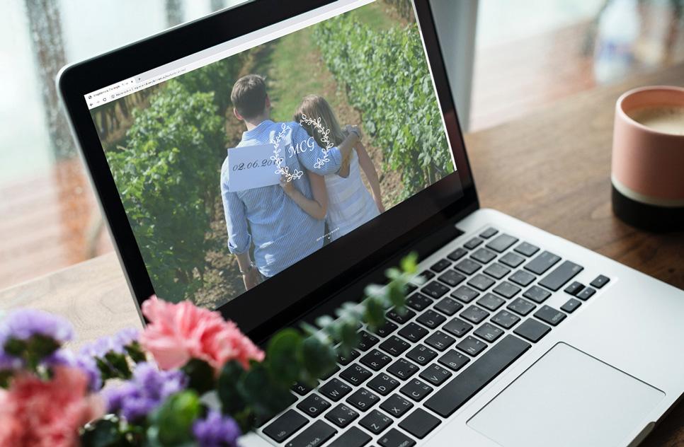 bessere Organisation mit einer WordPress Webseite für Ihre Hochzeit