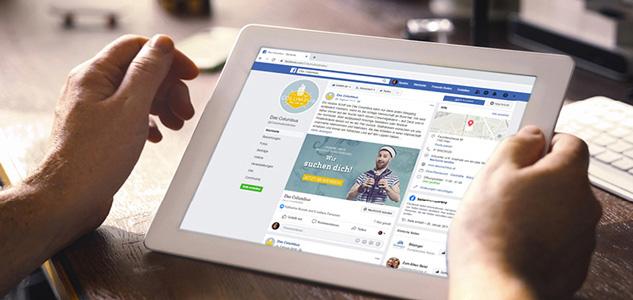 Facebook-Postings, Design für Social Media Auftritte